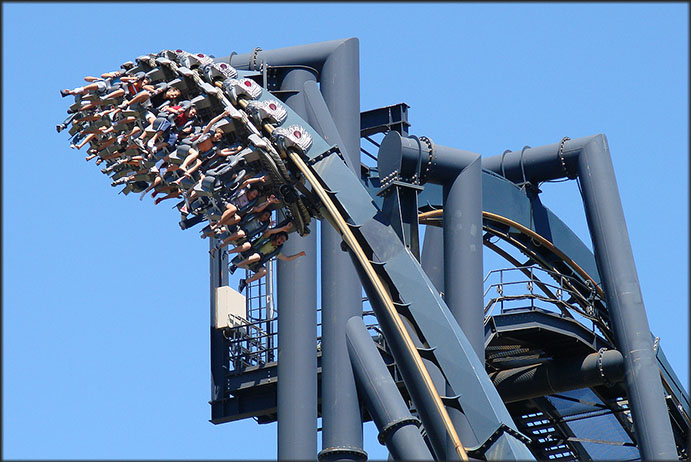 KATUN (Mirabilandia Ravenna) by Bolliger & Mabillard Rollercoasters Switzerland - Foto by Daverest